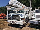 Altec AA600-P, Bucket Truck rear mounted on 1996 Ford F800 Utility Truck