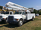 Altec AA600-P, Bucket Truck rear mounted on 1999 Ford F800 Utility Truck