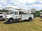 Altec AA600-P, Bucket Truck rear mounted on 2001 International 4700 Utility Truck