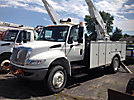 Altec AA600-P, Bucket Truck rear mounted on 2009 International 4300 DuraStar Utility Truck