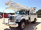Altec AA600L, Bucket Truck, rear mounted on, 2004 International 7400 4x4 Utility Truck