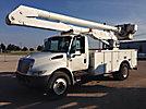 Altec AA600L, Bucket Truck, rear mounted on, 2005 International 4300 Utility Truck
