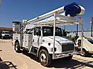 Altec AA600L, Material Handling Bucket Truck, rear mounted on, 2000 Freightliner FL70 Utility Truck