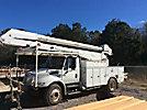 Altec AA755-MH, Material Handling Bucket, rear mounted on, 2006 International 4300 Utility Truck