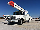Altec AA755-MH, Material Handling Bucket, rear mounted on, 2007 Freightliner M2 Utility Truck