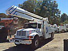 Altec AA755-MH, Material Handling Bucket Truck, rear mounted on, 1999 International 4900 Utility Truck