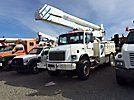 Altec AA755-MH, Material Handling Bucket Truck, rear mounted on, 2000 Freightliner FL80 4x4 Utility Truck
