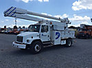 Altec AA755-MH, Material Handling Bucket Truck, rear mounted on, 2000 Freightliner FL80 Utility Truck