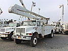 Altec AA755-MH, Material Handling Bucket Truck, rear mounted on, 2001 International 4800 4x4 Utility Truck