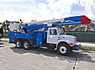Altec AA755-MH, Material Handling Bucket Truck, rear mounted on, 2001 International 4900 T/A Utility Truck