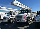 Altec AA755-MH, Material Handling Bucket Truck, rear mounted on, 2002 Freightliner FL80 4x4 Utility Truck