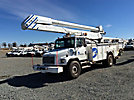 Altec AA755-MH, Material Handling Bucket Truck, rear mounted on, 2002 Freightliner FL80 Utility Truck