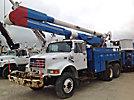 Altec AA755-MH, Material Handling Bucket Truck, rear mounted on, 2002 International 4900 6x6 Utility Truck