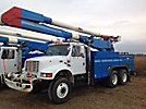 Altec AA755-MH, Material Handling Bucket Truck, rear mounted on, 2002 International 4900 6x6 Utility Truck