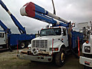 Altec AA755-MH, Material Handling Bucket Truck, rear mounted on, 2002 International 4900 T/A Utility Truck