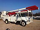Altec AA755-MH, Material Handling Bucket Truck, rear mounted on, 2003 International 4400 Utility Truck