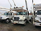 Altec AA755-MH, Material Handling Bucket Truck, rear mounted on, 2004 International 4300 Utility Truck