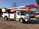 Altec AA755-MH, Material Handling Bucket Truck, rear mounted on, 2005 Freightliner M2 106 Utility Truck