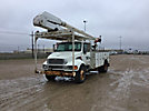 Altec AA755-MH, Material Handling Bucket Truck, rear mounted on, 2005 Sterling Acterra Utility Truck