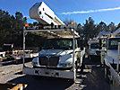 Altec AA755-MH, Material Handling Bucket Truck, rear mounted on, 2006 International 4300 Utility Truck