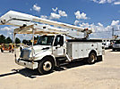Altec AA755-MH, Material Handling Bucket Truck, rear mounted on, 2007 International 4300 Utility Truck