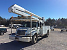 Altec AA755-MH, Material Handling Bucket Truck, rear mounted on, 2007 International 4300 Utility Truck