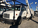 Altec AA755-MH, Material Handling Bucket Truck rear mounted on 2001 Freightliner FL70 T/A Utility Truck