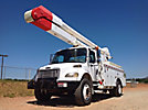 Altec AA755-MH, Material Handling Bucket Truck rear mounted on 2004 Freightliner M2-106 Utility Truck