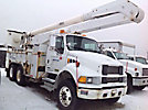 Altec AA755-MH, Material Handling Bucket Truck rear mounted on 2004 Sterling Acterra T/A Utility Truck