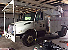 Altec AA755-MH, Material Handling Bucket Truck rear mounted on 2005 International 4300 Utility Truck