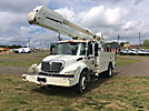 Altec AA755-MH, Material Handling Bucket Truck rear mounted on 2005 International 4300 Utility Truck