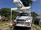 Altec AA755-MH, Material Handling Bucket Truck rear mounted on 2005 Sterling Acterra Utility Truck