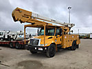 Altec AA755-MH, Material Handling Bucket Truck rear mounted on 2007 Ford F750 Utility Truck