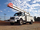 Altec AA755-MH, Material Handling Bucket Truck rear mounted on 2007 Freightliner M2 106 Utility Truck