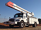 Altec AA755-MH, Material Handling Bucket Truck rear mounted on 2007 Freightliner M2 Utility Truck