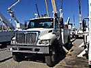 Altec AA755-MH, Material Handling Bucket Truck rear mounted on 2007 International 7300 4x4 Utility Truck