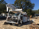 Altec AA755-MH, Material Handling Bucket Truck rear mounted on 2007 Peterbilt 335 Utility Truck
