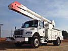 Altec AA755-MH, Material Handling Bucket Truck rear mounted on 2008 Freightliner M2 Utility Truck