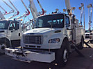 Altec AA755-MH, Material Handling Bucket Truck rear mounted on 2009 Freightliner M2 Utility Truck