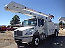 Altec AA755-MH, Material Handling Bucket Truck rear mounted on 2014 Freightliner M2 106 4x4 Utility Truck