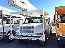 Altec AA755-MH, Material Handling Bucket rear mounted on 2002 International 4700 Utility Truck