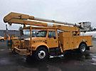 Altec AA755-P, Bucket Truck, rear mounted on, 1995 International 4900 Utility Truck