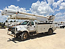 Altec AA755-P, Bucket Truck, rear mounted on, 2004 Ford F750 Utility Truck