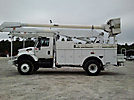 Altec AA755-P, Bucket Truck, rear mounted on, 2004 International 7300 4x4 Utility Truck