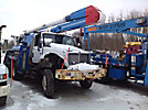 Altec AA755-P, Bucket Truck, rear mounted on, 2006 International 7400 6x6 Utility Truck
