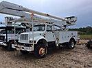 Altec AA755L, Bucket Truck, rear mounted on, 2001 International 4700 4x4 Utility Truck