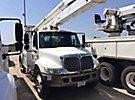 Altec AA755L, Bucket Truck, rear mounted on, 2007 International 4300 Utility Truck