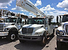 Altec AA755L, Bucket Truck mounted behind cab on 2009 International 4300 Utility Truck