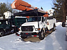 Altec AA755L, Bucket Truck rear mounted on 2002 Ford F750 Utility Truck