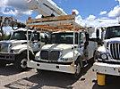 Altec AA755L, Bucket Truck rear mounted on 2007 International 4300 Utility Truck